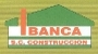 Publicidad de Ibanca S.C. Construcciones.